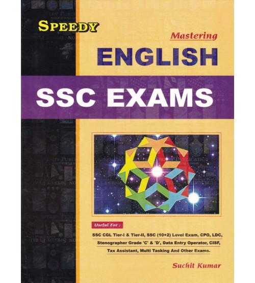 Speedy Mastering English For SSC Exams, Rs. 456