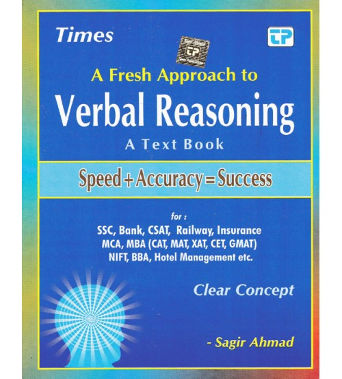 Times Verbal Reasoning, Rs.400